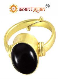 Black Sulemani Hakik (Agate) Ring