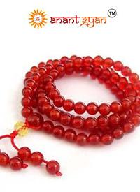 Red Agate Mala
