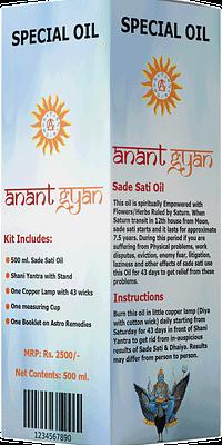 Sade-Sati-Oil