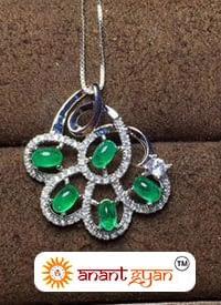 Emerald Gemstone Pendant
